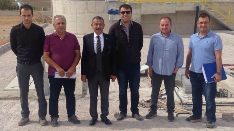 Çalış Belediyesi Atık Su Arıtma Tesisi Faaliyete Geçti